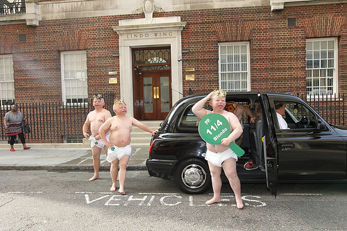 Paddy Power's Royal Babies. Photo courtesy of Taylor Herring Publicity
