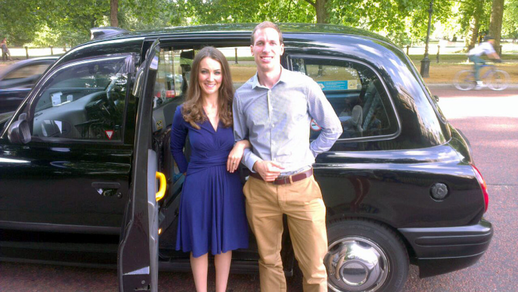 Kate & William look-alikes