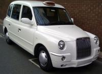 White TX Taxi
